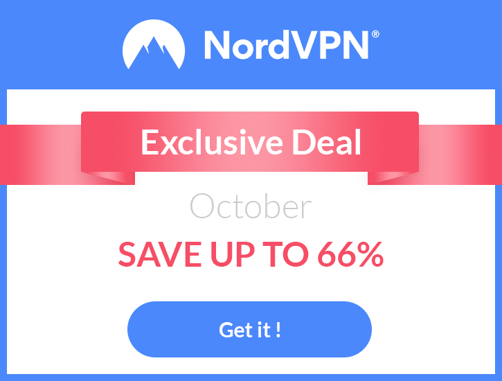 Nord VPN Offer
